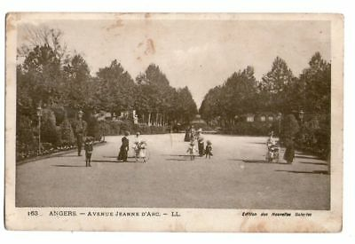 49-81 cpa Angers - avenue jeanne d'arc