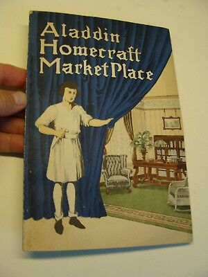 1915 Aladdin CATALOG Homecraft Market Place CRAFTSMAN antique Interiors bathroom