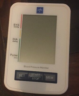 Automatic Digital Blood Pressure Monitor with Standard Adult Cuf