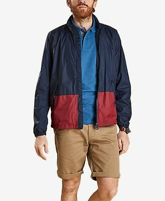 Barbour Men's Bollen Casual Jacket Blue Red 2XL NWT