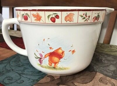 Disney Winnie The Pooh Autumn Leaves Batter Bowl