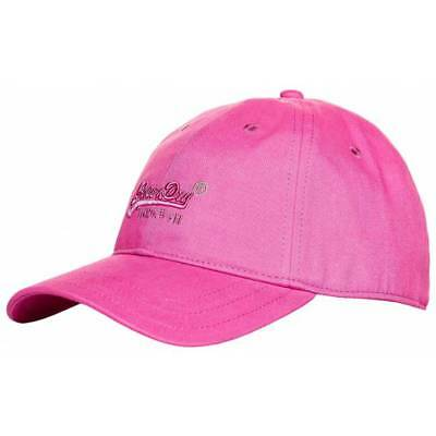 Casquette Superdry Oleta soft touch femme pink