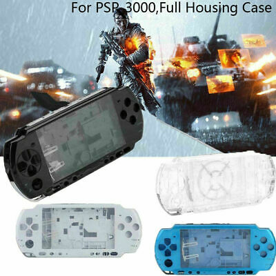 Full Housing Shell Case Cover Faceplate Set Repair Part for PSP 3000 Slim Series