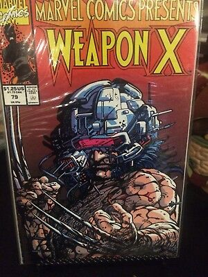 Wolverine Marvel Lot Of 7. Weapon X + Wolverine.