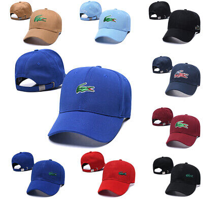 Adjustable Leather Strap Back Fine Embroidery Baseball Golf Hats Cap Lacosate
