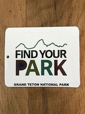 Usa National Parks - Find Your Park Campaign Decal / Sticker - Brand New