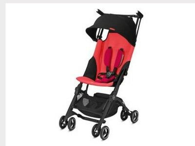 Gb Pocket Plus Stroller Lightweight Cherry Red New In Box Free Shipping
