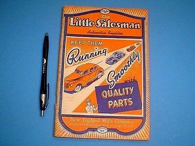 VINTAGE LATE 1930's THE LITTLE SALESMAN AUTOMOTIVE SUPPLIES CATALOG 176 PGS