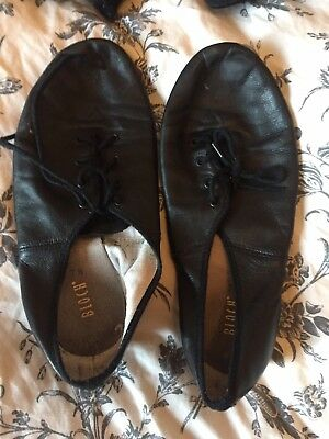 Bloch Black Leather Jazz Dance shoes | Bloch sz 7.5 Adult