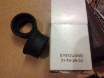 2 Bausch And & Lomb Eye Piece Microscope Eye Guards 31-49-29-02 Eyeguard