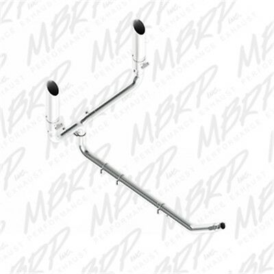 MBRP Exhaust S9100409 Smokers Installer Series Turbo Back Stack Exhaust System