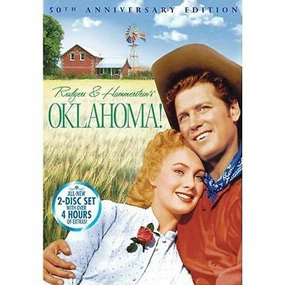 Oklahoma DVD 2-Disc Set, 50th Anniversary Edition Brand New Free Shipping