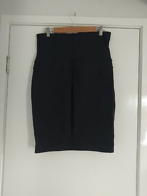 Black Jeanswest Maternity Skirt Size Medium