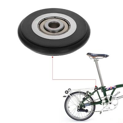 H/&H 55//45mm Eazy Wheels for Brompton Bicycle easy pulling folding bike