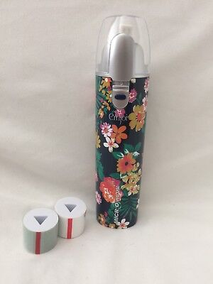 Emjoi Micro Mani Battery Operated Nail Polisher w/Smooth & Shine Rollers, pouch