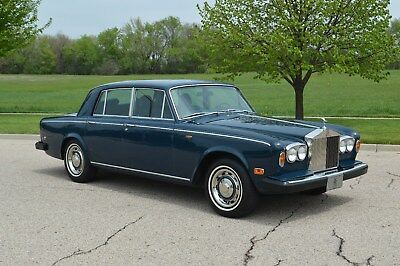 1978 Rolls-Royce Silver Shadow II triking example, rare Exetor blue. A product of USA's best Shadow restorer