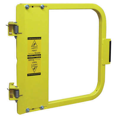 PS DOORS Carbon Steel Safety Gate,13-3/4 to 17-1/2 In,Steel, LSG-15-PCY, Yellow