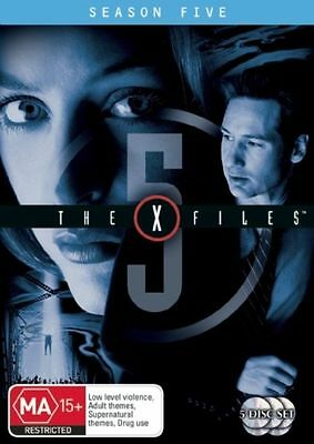 The X-Files : Season 5 Fifth Complete (DVD, 2007, 5-Disc Set) FREE POST