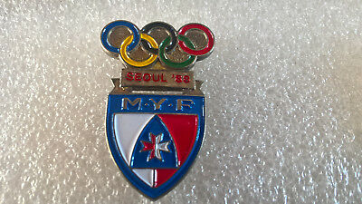 RARE Pin's JEUX OLYMPIQUE SEOUL 88 MYF