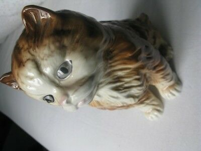 Melbaware  England. Figure off Ginger Cat. Unboxed, old and used but GC