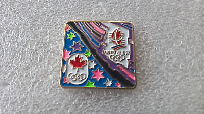 Pin's rare JO CANADA ALBERTVILLE 92 , jeux olympiques sport