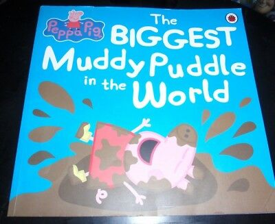 Peppa Pig~The Biggest Muddy Puddle In The World~S/c~~Gc