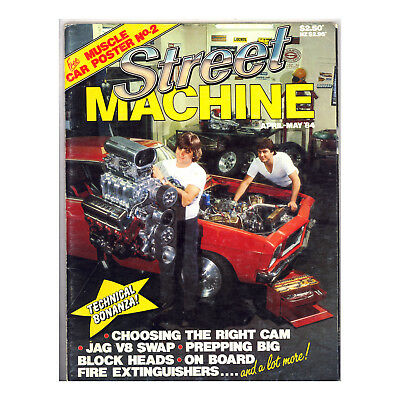Street Machine April - May 1984 - Jaguar V8, 427 HQ Coupe, Holden EH, Falcon XM