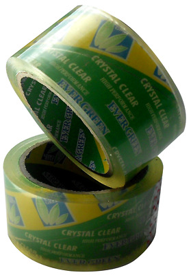 CLEAR ROLLS STRONG PARCEL PACKING SELLOTAPE _  50MM x 66M