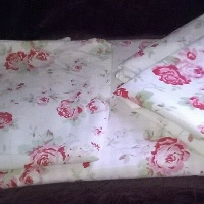 Cath Kidston Rosali  Single Duvet Set with 1 Pillowcase and 2 Cushion Covers