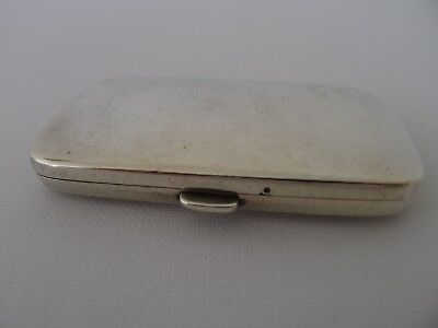 rare beautiful old sterling silver hinged lid box with hinged lid compartments