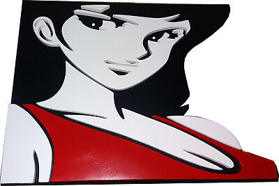 Margot Quadro artistico in legno a rilievo Personaggi Lupin III