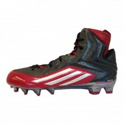 7799bba829fa Mens Adidas Crazyquick 2.0 High Red Athletic Multi-Purpose Cleats Q16437  Size 13