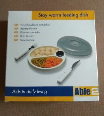 BNIB New Able 2 keep warm Bowl for Disabled and Elderly