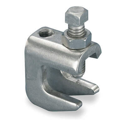 NVENT CADDY 304 Stainless Steel Beam Clamp,3/8 In Rod Size,304 SS, 3050037S4