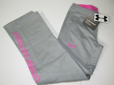 Under Armour ColdGear STORM Girls Graphic Fleece Lined Athletic Sweat Pants YXL