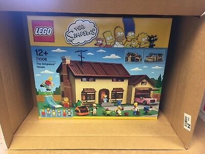 Lego Simpsons House 71006 New Mint Sealed BNIB NextDay Delivery Retired Rare Set