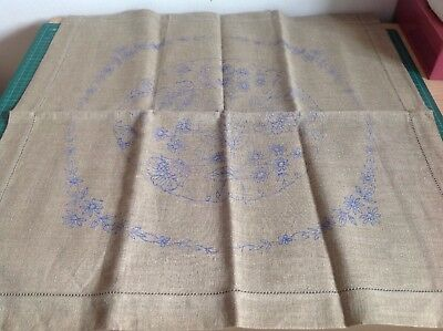 Vintage Cushion Cover To Embroider