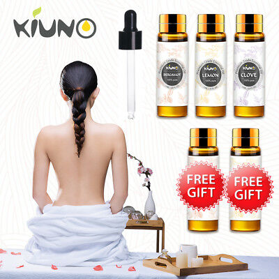 KIUNO 10ML 100% Pure Essential Oil Therapeutic Grade Aromatherapy Oils Fragrance
