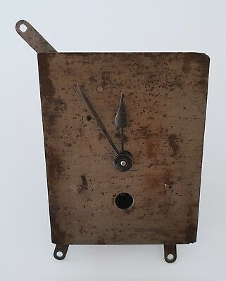 Vintage CLOCK MOVEMENT with Hands - spares and repairs