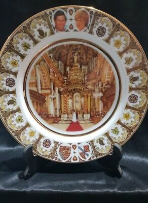 Benz Ceramics Australia - Charles & Diana Wedding PLATE (Limited Edition)