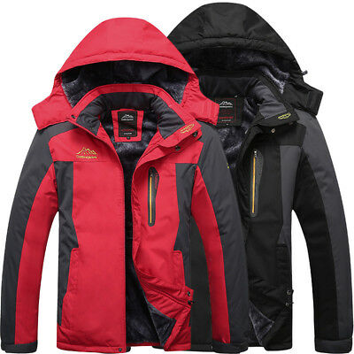 Men's Warm Winter Jacket Waterproof Outdoor Ski Snow Climbing Hiking Sports Coat