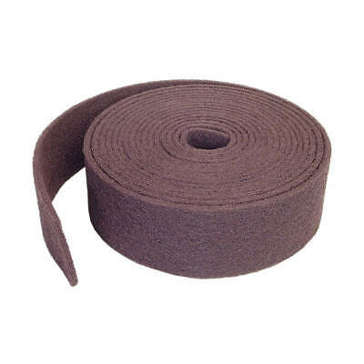 "NORTON Abrasive Roll,4"" W x 30 ft.L,100 to 150G, 66261058364, Maroon"