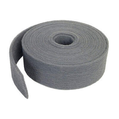 "NORTON Abrasive Roll,4""W x 30 ft. L,400 to 600G, 66261058357, Gray"