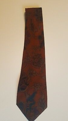 LAZO Abstract Mens Classic Neck Tie 100% Silk ITALY Reduced!!