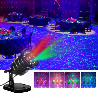 LED Laser Projector Light Star Party Garden Xmas Decor Stage Lamp Remote Timer