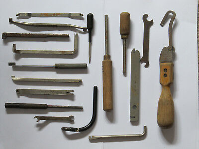 GPO/BT Engineers Assorted Strowger Exchange Maintenance Tools