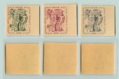 Lithuania 1947 10-20 mint imperf Seedorf DPC . f4078