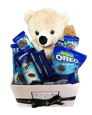 BRAND NEW Oreo & Bear Hamper Edible Gift Hamper Chocolate Teddy Bear