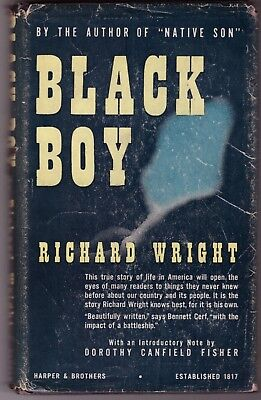 Richard Wright BLACK BOY A Record of Childhood & Youth African American 1st ed
