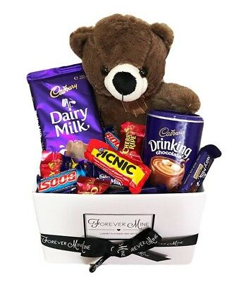 BRAND NEW Cadbury Bear Hamper Edible Gift Hamper Chocolate Teddy Bear